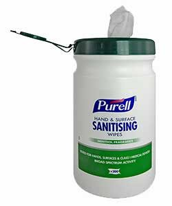 Purell Sanitizing Wipes for Hands & Surfaces