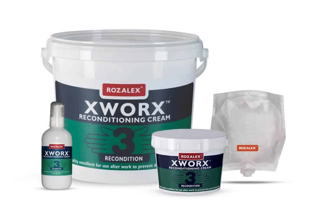 ROZALEX XWORX After Work Cream